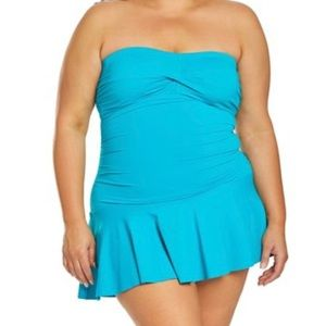 Chaps one Piece Swimsuit-Slimming Fit-